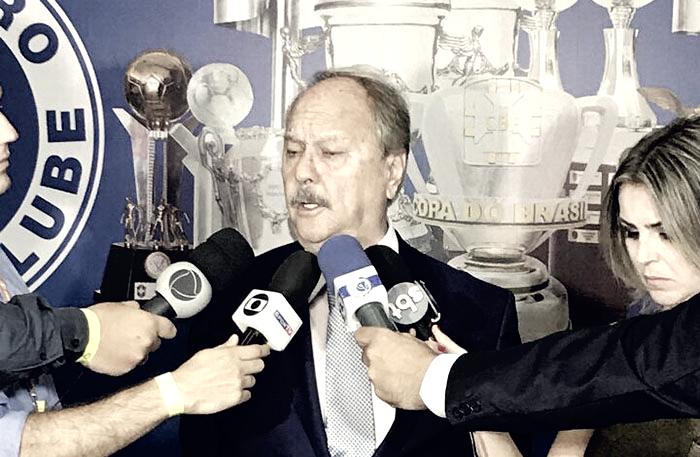 Wagner Pires de Sá é empossado no Cruzeiro e promete presente para torcida