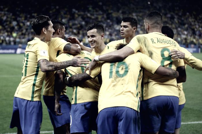 Resultado Brasil x El Salvador em Amistoso internacional (5-0)