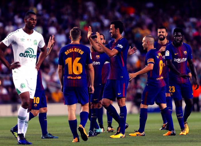Trofeo Gamper - Barcellona batte Chapecoense 5-0