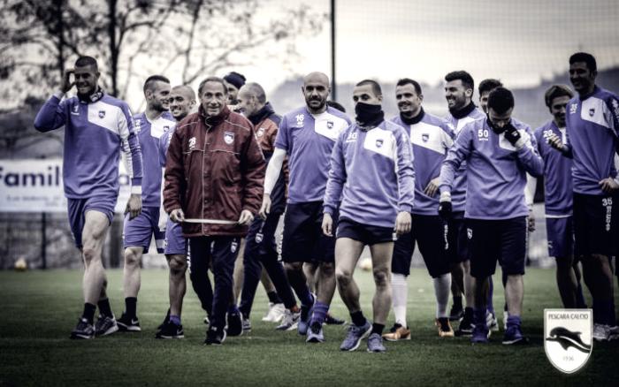 Pescara - Gilardino e Bahebeck tornano in gruppo