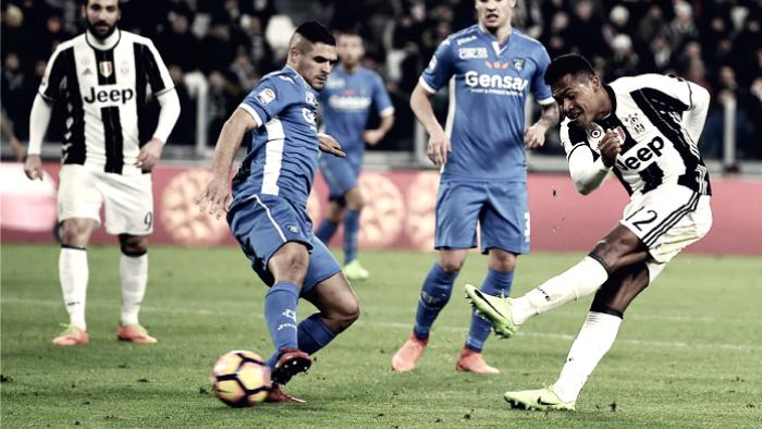 """Empoli: non riesce il miracolo allo """"Juventus Stadium"""""""