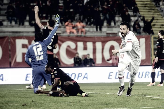 Serie B - Il Perugia schianta un Benevento in crisi nera: 3-1 al Curi