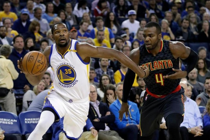NBA, Golden State passa su Atlanta (105-100)