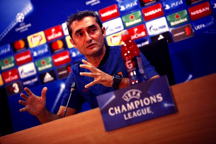 Barcellona-Juventus, Valverde: