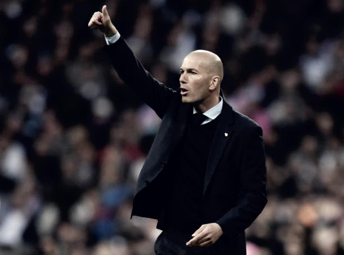 Zidane enaltece classificação do Real Madrid: ''Grande espetáculo''