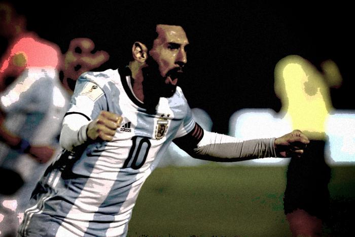 L'Argentina ai piedi di Leo Messi