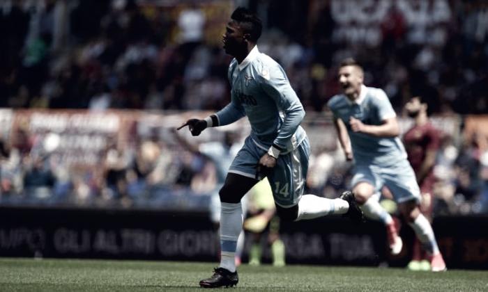 Serie A - La Lazio vince il derby con un super Keita: battuta la Roma 1-3