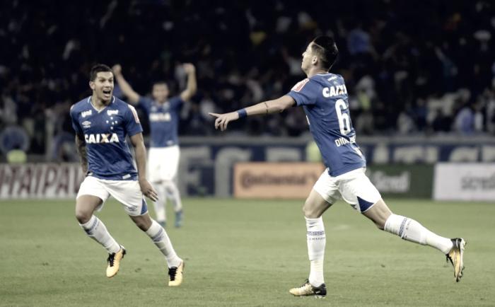 """Diogo Barbosa, herói do Cruzeiro, brinca com gol: """"Sabia que ia acontecer"""""""