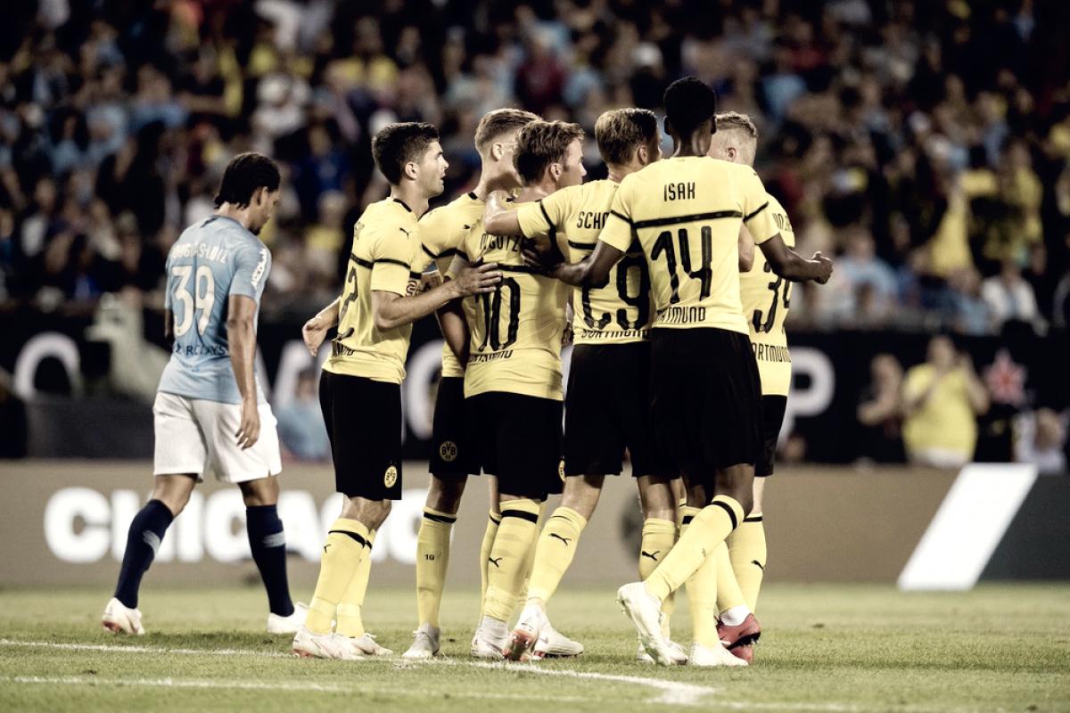 ICC - Gotze stende il Manchester City: il Borussia Dortmund vince 1-0