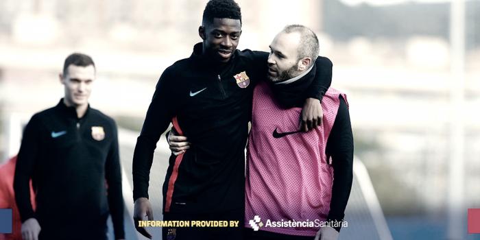 Barcellona - Dembelè si ferma ancora
