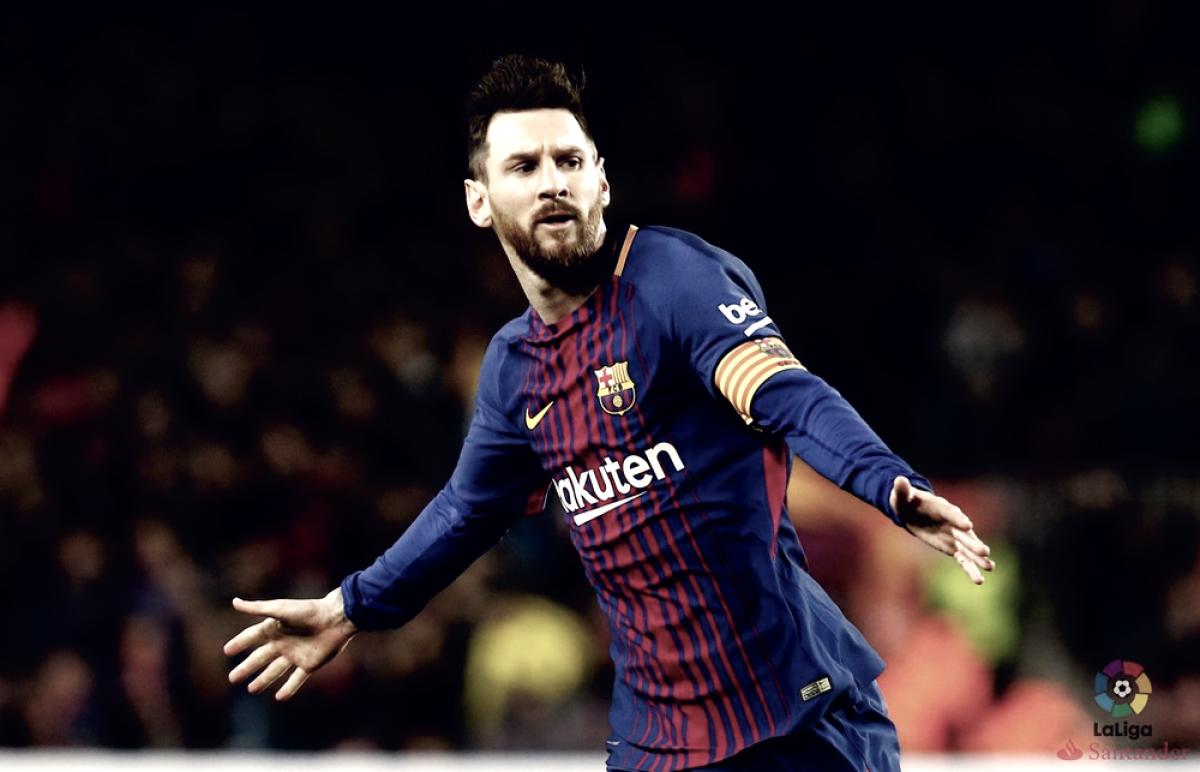 Barcellona - La Liga in mano nel segno di Leo Messi