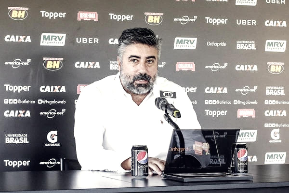 """Diretor de futebol do Atlético, Gallo critica arbitragem: """"Não vamos mais aceitar essa situação"""""""
