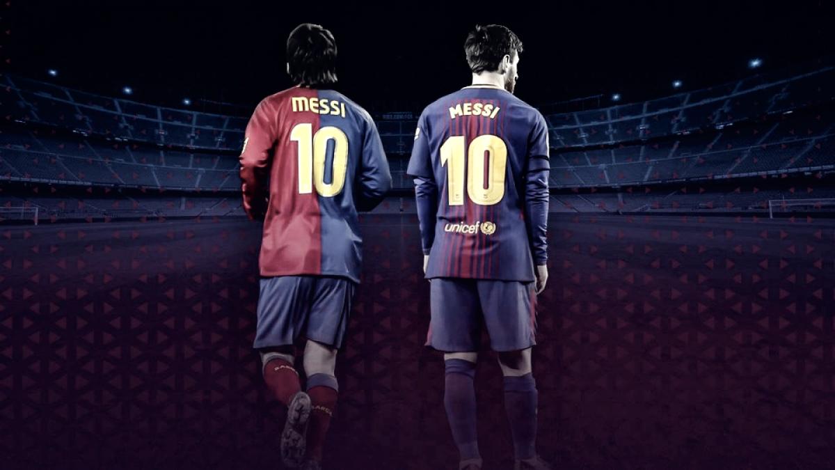 Barcelona celebra dez anos de Messi com publicação nas redes sociais