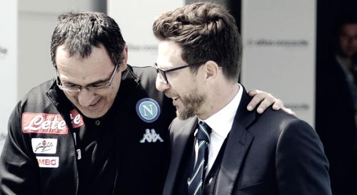 Febbre al 90′ per Sarri: l'allenatore del Napoli non parla in tv