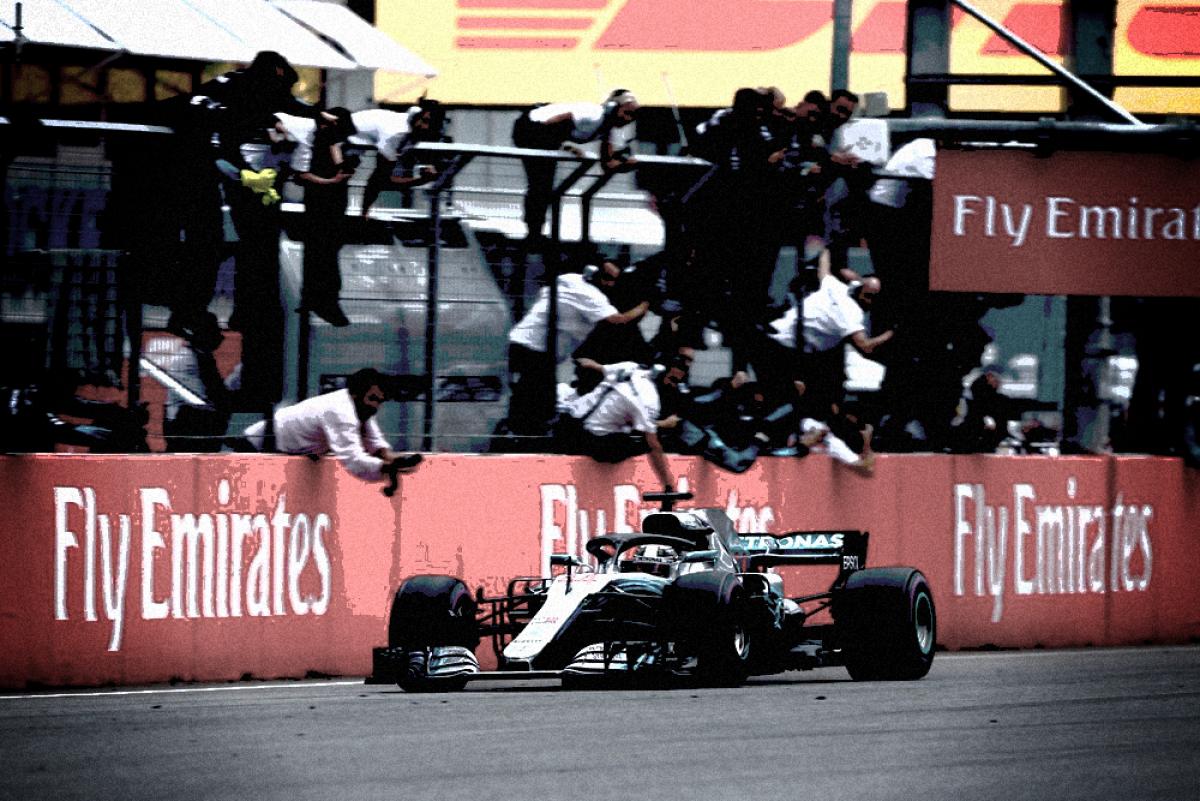 L'attacco al potere di Lewis Hamilton