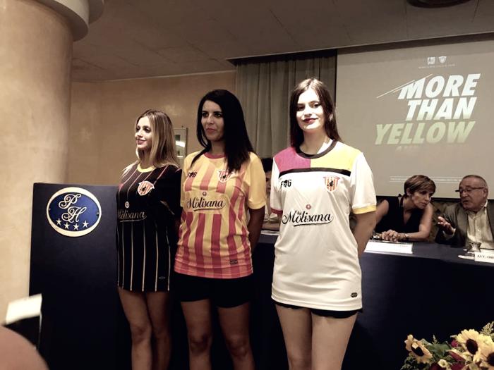 Benevento - Presentate le divise per la stagione 2017-2018