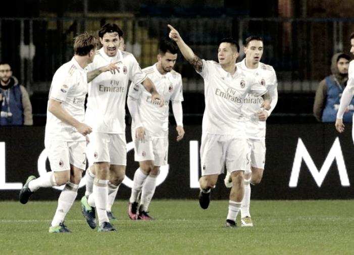 Rivoluzione Milan. Prove di 3-5-2 per Montella