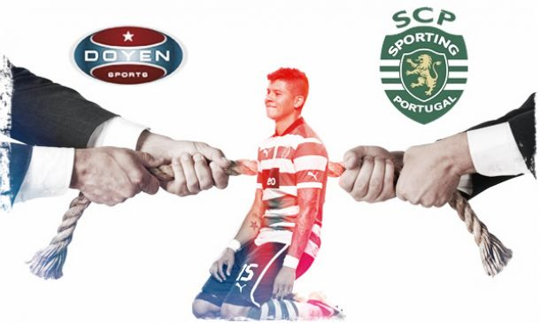 Sporting e Doyen Sports em confronto