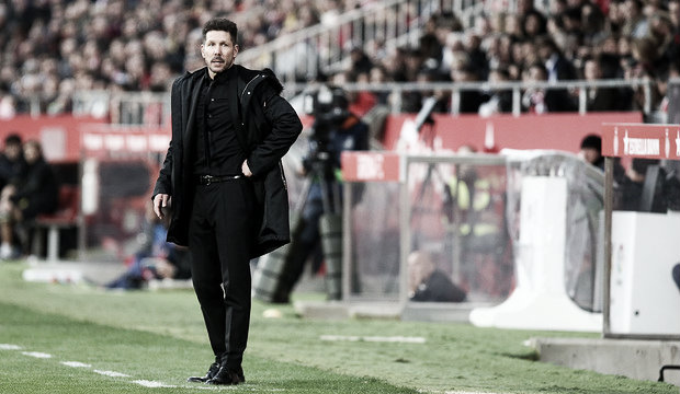 """Simeone: """"El entrenador va detrás de lo que ve"""""""