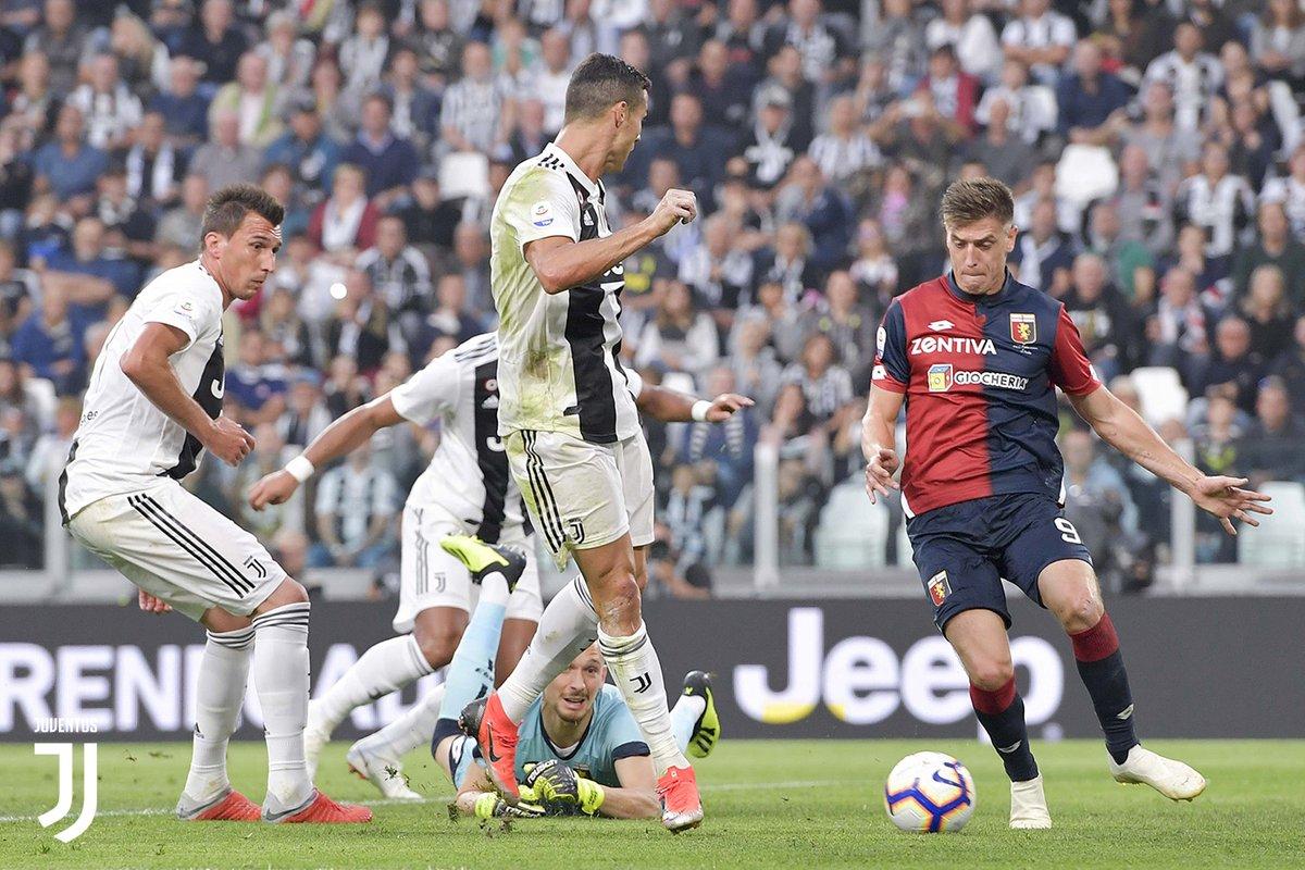 SERIE A- Frena la Juventus. 1-1 con il Genoa