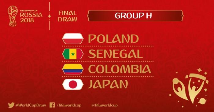 Análise Grupo H: Polônia e Colômbia são favoritas para avançar de fase