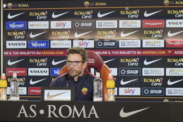 Roma-Spal, Di Francesco determinato: