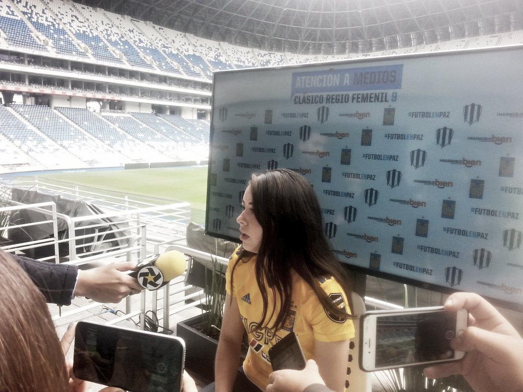 A Katty Martínez le motiva el poderle quitar el invicto a Rayadas