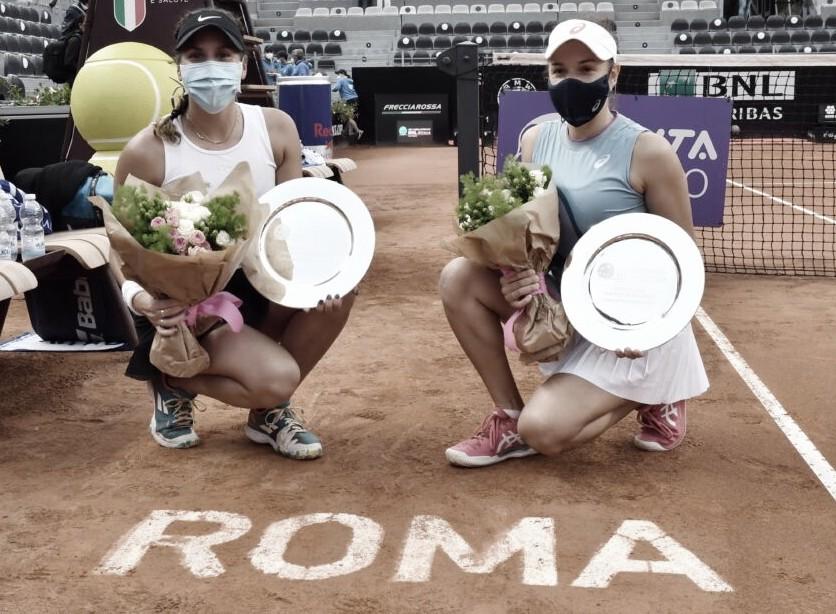 Fichman y Olmos, campeonas en dobles
