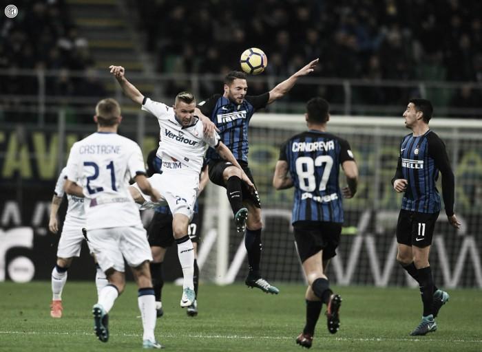 Serie A: Double Icardi e -2 dal Napoli, l'Inter torna a vincere contro l'Atalanta (2-0)