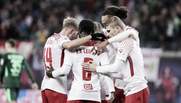 Com Keïta inspirado, RB Leipzig bate Werder Bremen e assume vice-liderança