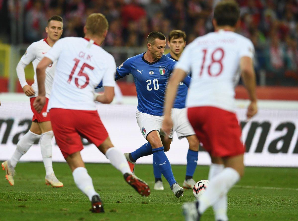 Nations League - Biraghi stende la Polonia nel finale: l'Italia vince 0-1