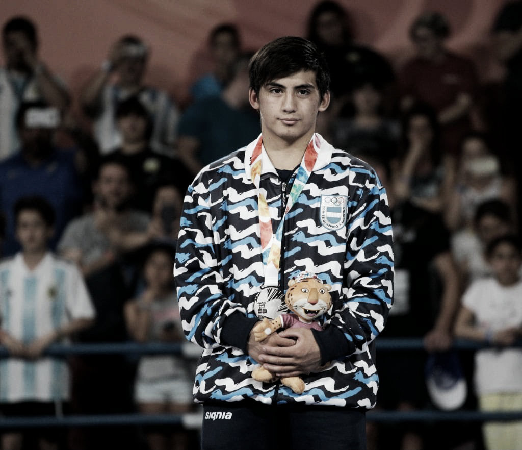Buenos Aires 2018: Plata en Lucha Olímpica