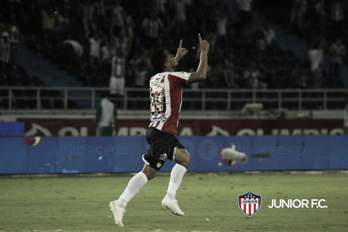 Junior logró una remontada épica ante Deportes Tolima