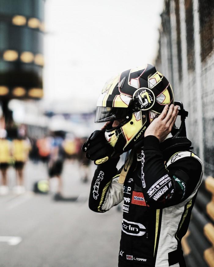 """Lando Norris, optimista con su futuro: """" Ganar el campeonato sería el objetivo, si hago Fórmula 2"""""""
