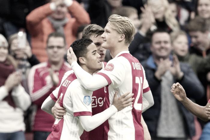 Resumen Jornada 13 de la Eredivisie: Kluivert mantiene segundo al Ajax