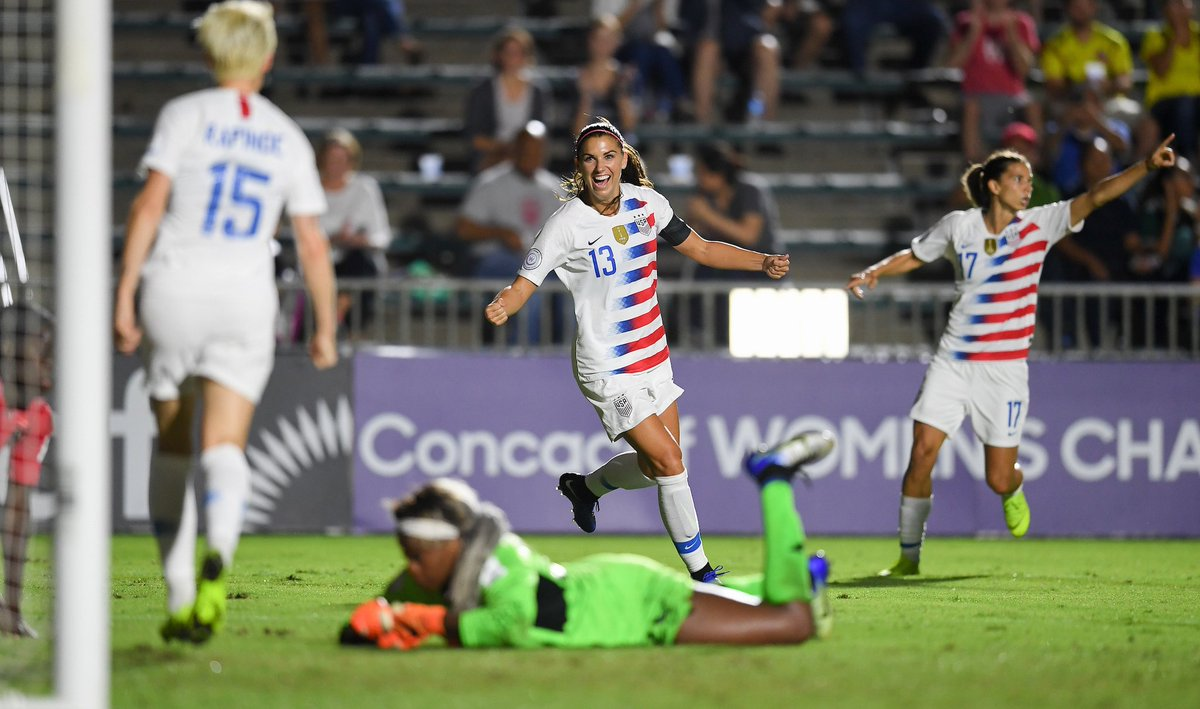 The USWNT rout Trinidad & Tobago, advance to the semi final