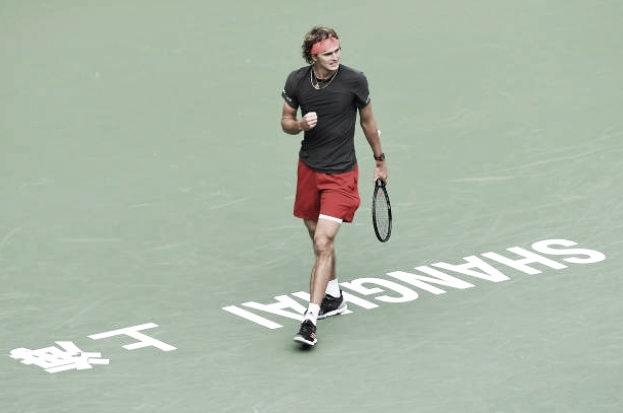 Shanghai: Zverev aseguró su participación en las ATP Finals tras avanzar a semifinales