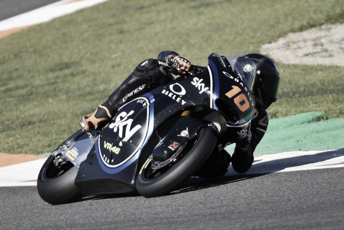 Luca Marini consigue su primera pole bajo el sol de Brno