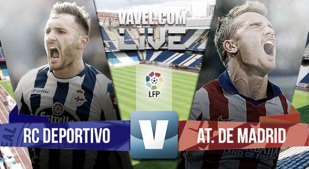 Deportivo de La Coruña vs Atlético de Madrid 2015 en vivo y en directo online en la Liga BBVA