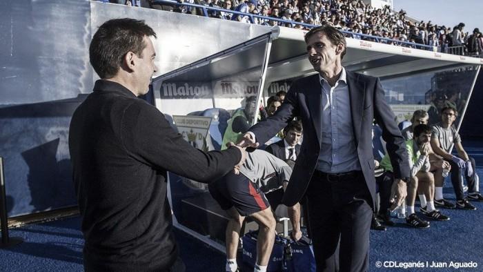 """Garitano: """"La dinámica es buena y te da para sacar estos partidos tan importantes"""""""