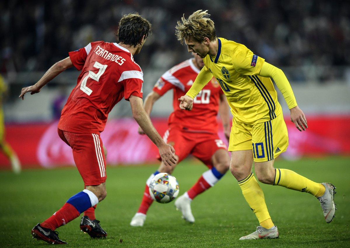 UEFA Nations League: pari tra Russia e Svezia, sorridono Israele e Kosovo