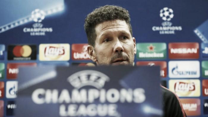"""Champions League, Simeone: """"Prima partita importante, vogliamo vincere il trofeo"""""""