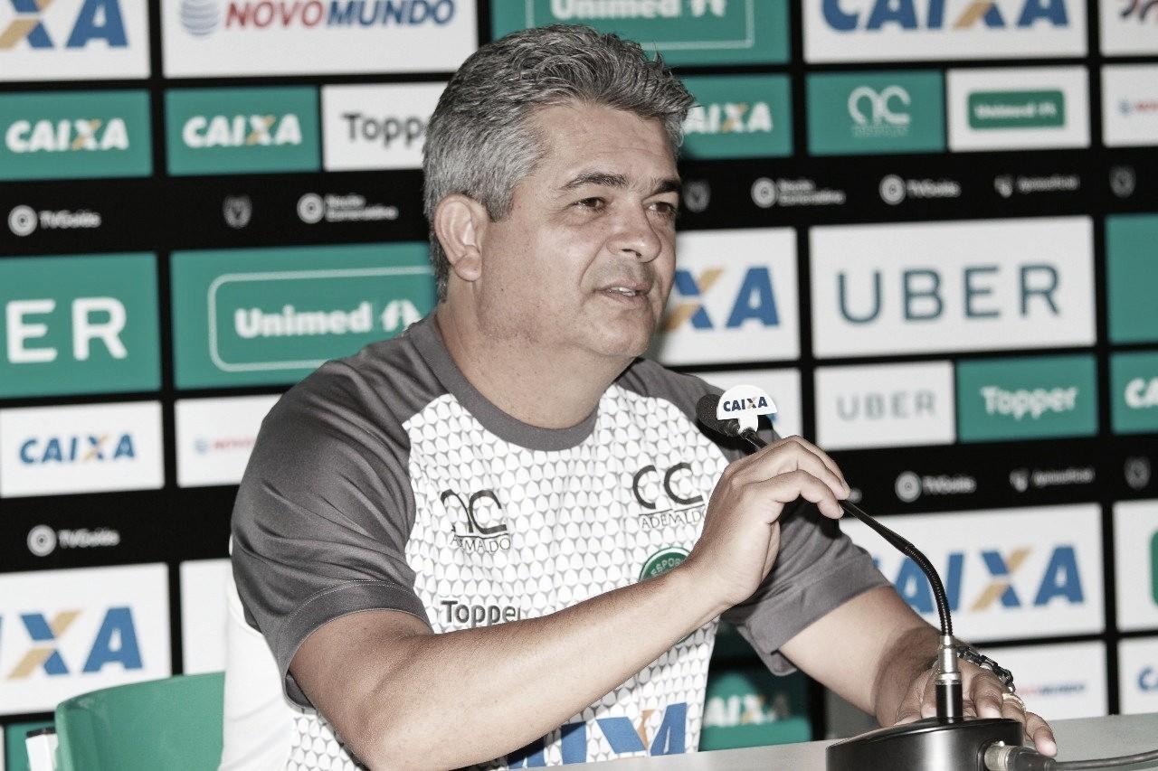 Ney Franco exalta Tadeu e garante pés no chão por parte do Goiás