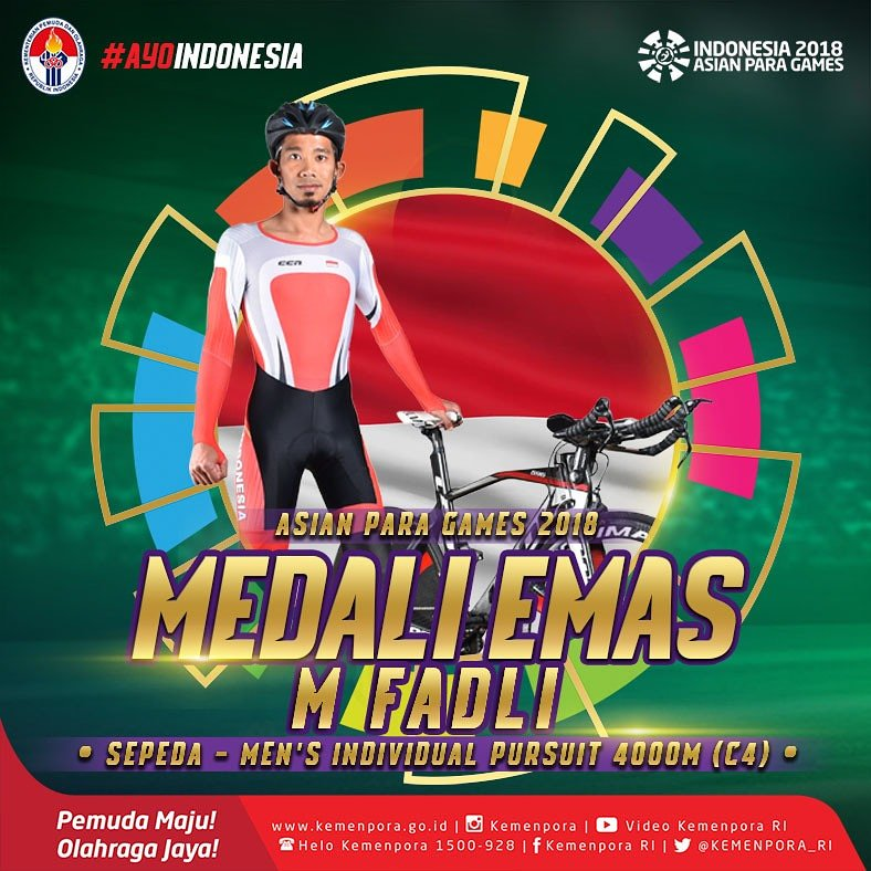 Dibalik Perjuangan Muhammad Fadli Persembahkan Emas Bagi Indonesia di Asian Para Games