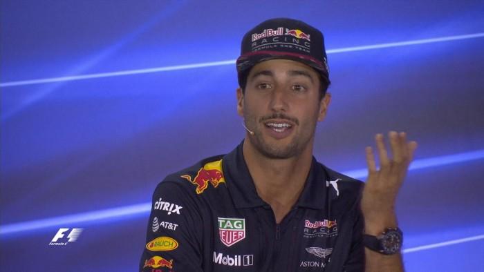 """F1, GP EAU - Ricciardo: """"Nel 2018 vogliamo esserci anche noi per il titolo"""""""