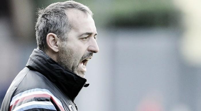 """Sampdoria, Giampaolo sulla Coppa Italia: """"Ci teniamo a fare bene. Sarà partita pari"""""""