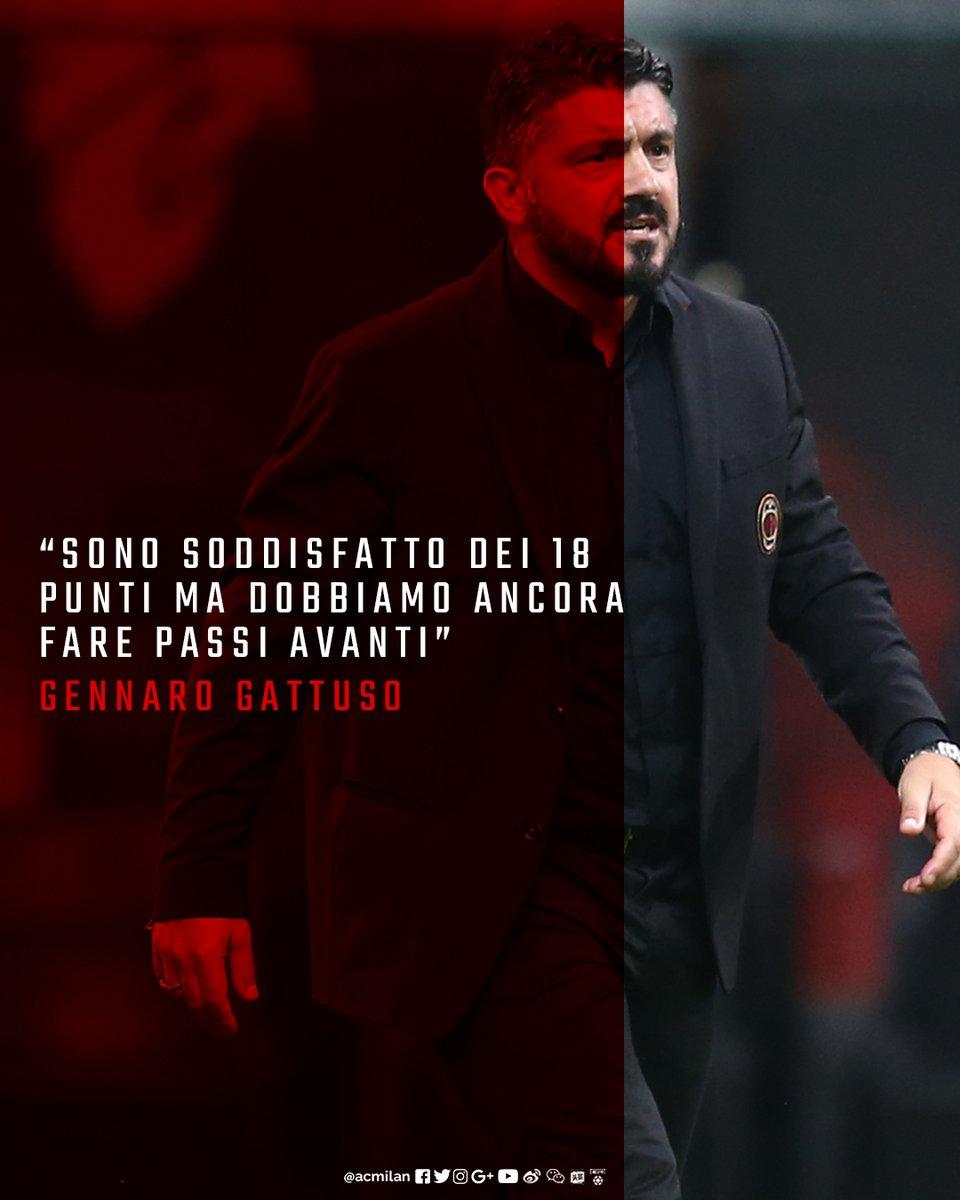 Milan, l'analisi di Gattuso: dal modulo, alla vittoria ed i tanti infortuni