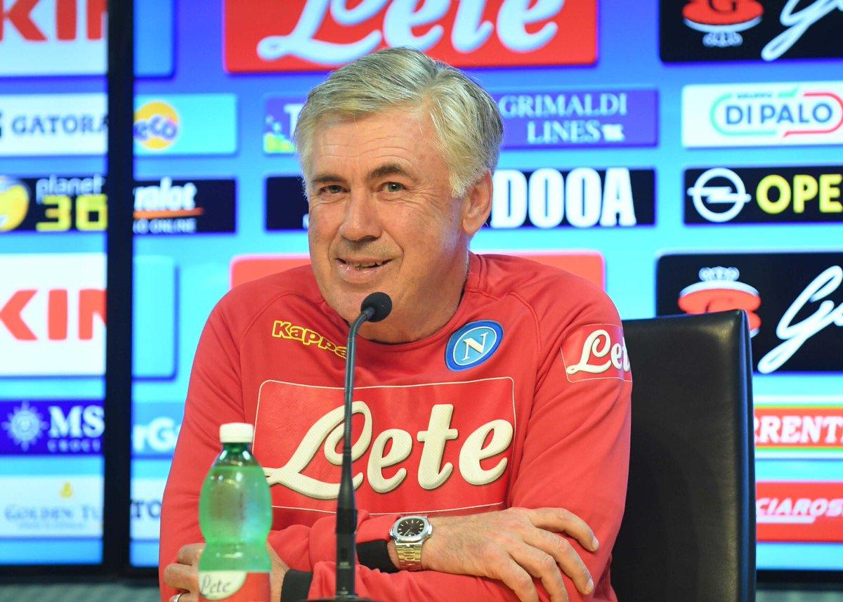 """Napoli, Ancelotti in conferenza: """"Turnover? Cambierò molto, ma non per il PSG"""""""