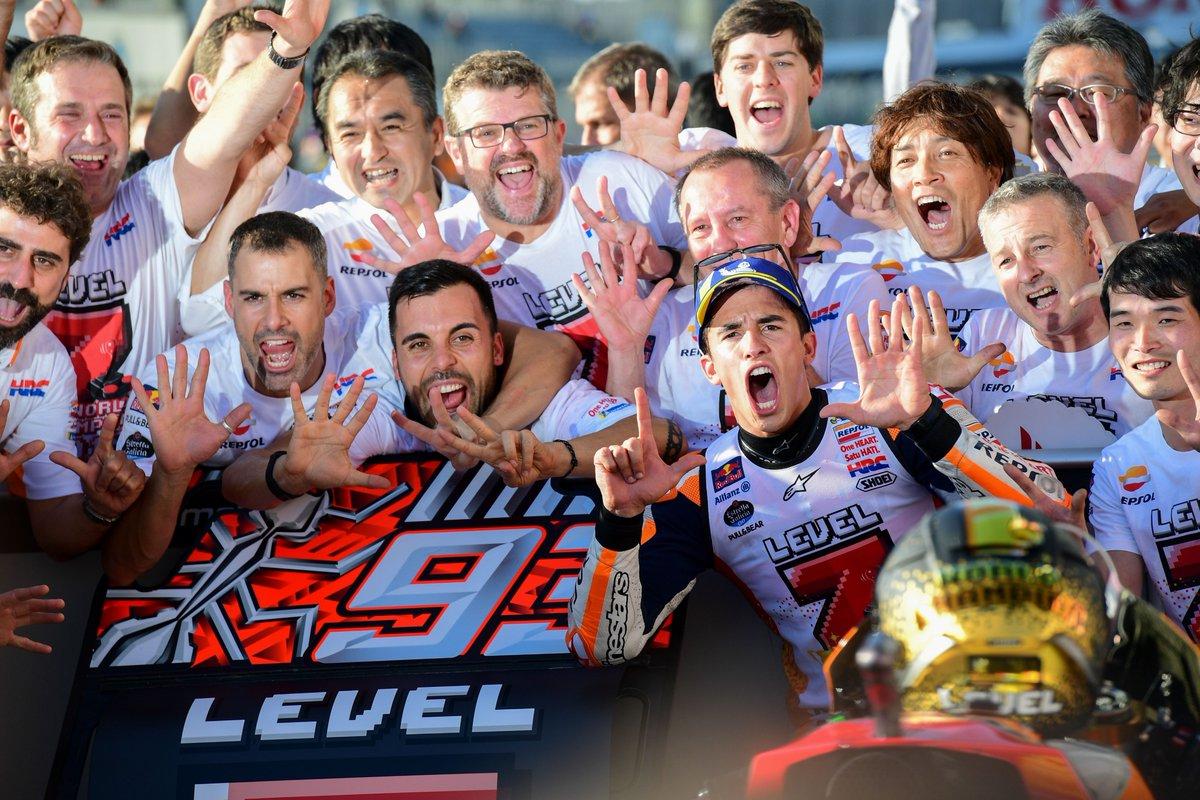 Rekor Marc Marquez setelah Menjadi Juara Dunia MotoGP 2018