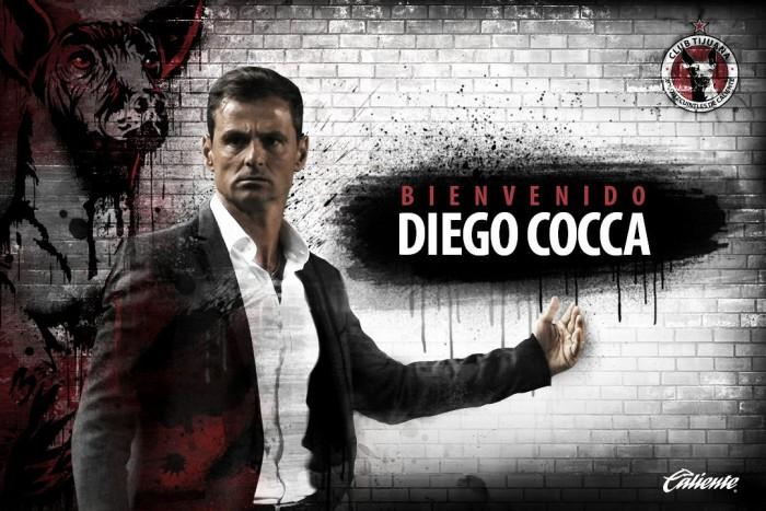 Diego Cocca, nuevo DT de Xolos